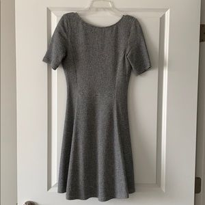 Theory tweed like sweater dress